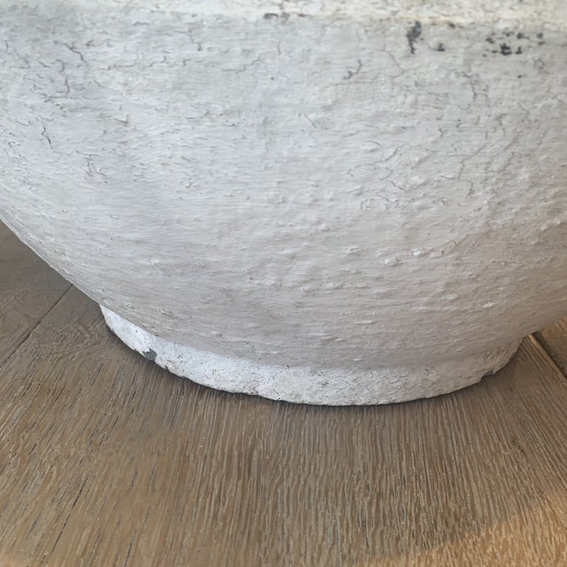 Vintage Concrete Bowl For Sale In Houston - Image 6 of 13