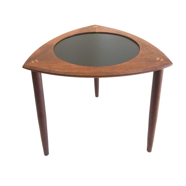 Danish Modern Accent Table - Image 1 of 6