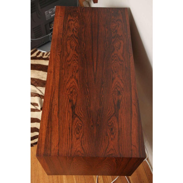 Italian Mid Century Wood Bar/Media Cabinet For Sale - Image 10 of 11