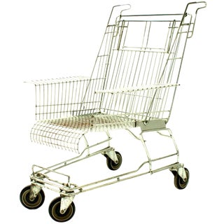 Tom Dixon Shopping Cart Chair For Sale