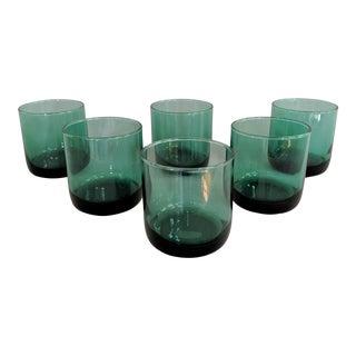 Jade Lowball / Rocks Glasses - Set of 6 For Sale