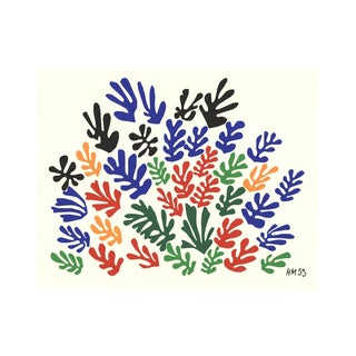Henri Matisse, Spray of Leaves, 2010, Serigraph For Sale