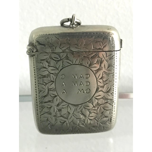 Late 19th Century Victorian Match Safe For Sale In Miami - Image 6 of 6