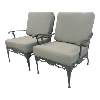 Brown Jordan Lounge Chairs - A Pair