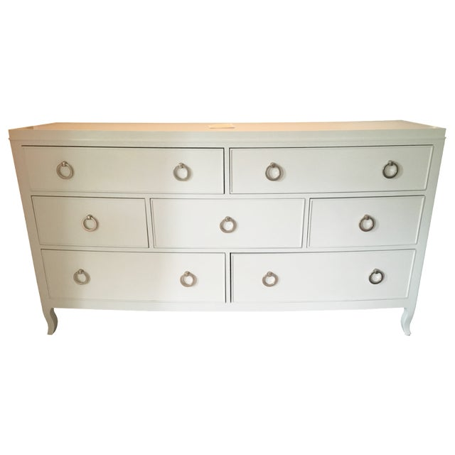 Bernhardt Salon Dresser in Alabaster For Sale