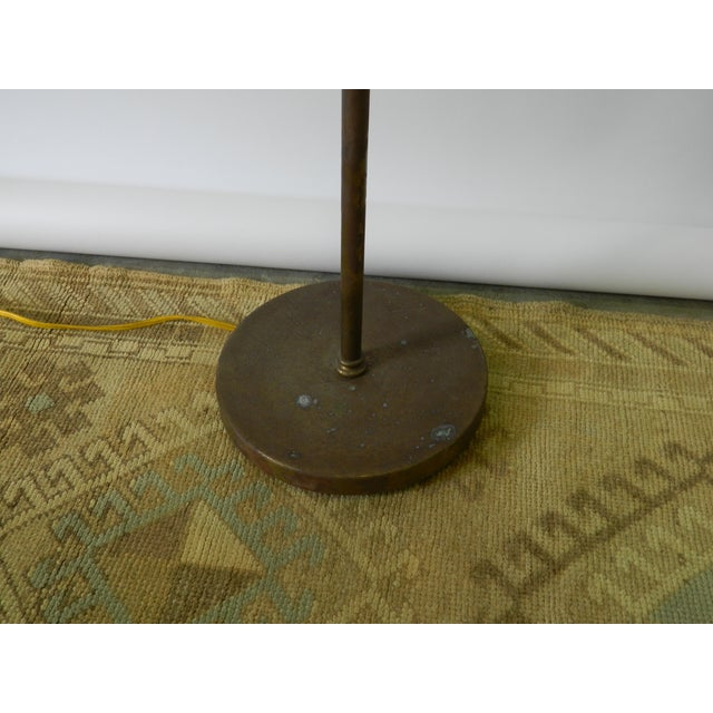 Vintage Brass Dome Floor Lamp - Image 6 of 6