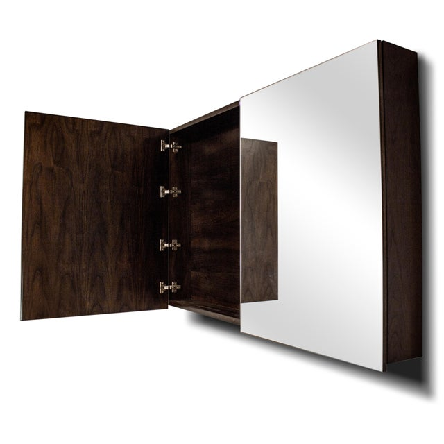 A beautiful Grafton Furniture piece! Chocolate Stain Maple TV Mirror Box. We made it as a sample, but now it needs a nice...