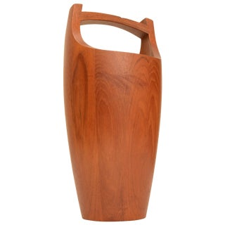 Danish Modern Ice Bucket Teak by Jens Quistgaard for Dansk For Sale