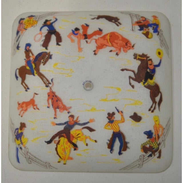 1940s Cowboy Ceiling Light Fixture - Image 2 of 5