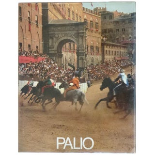 Palio Book by Alessandro Falassi For Sale