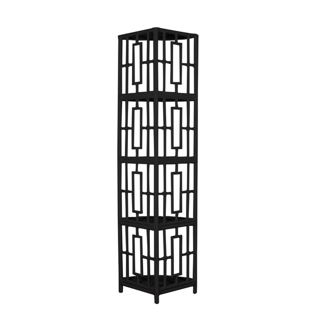 Strong yet stylish this unique corner Etagere is a classic piece of furniture to add elegance to your home decor. The...