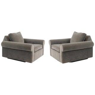Dunbar 'Big Texan' Lounge Chairs by Edward Wormley For Sale