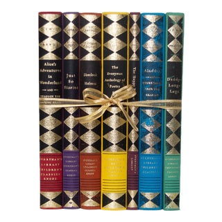 Gilded Prism Children's Classics Gift Book Set (S/7) For Sale