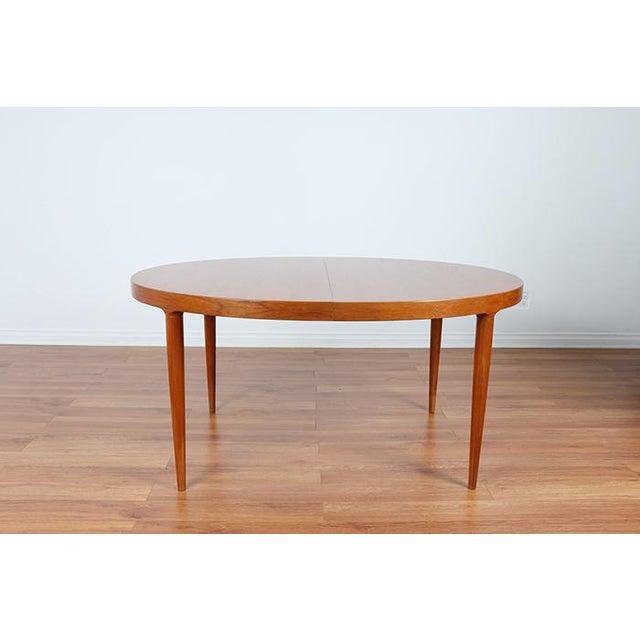 Skovmand & Anderson Danish Mid Century Teak Dining Table - Image 3 of 8