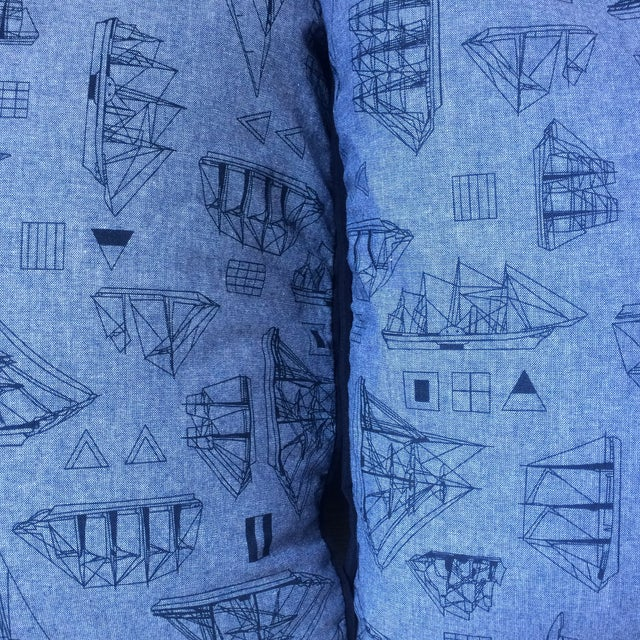 Set of Three Nautical Pillows - Image 8 of 8