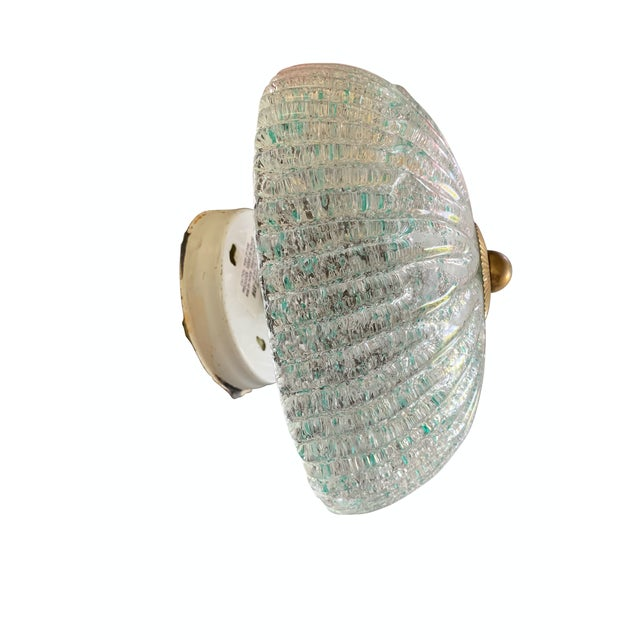 Contemporary Single Murano Glass Wall Sconce For Sale - Image 3 of 6