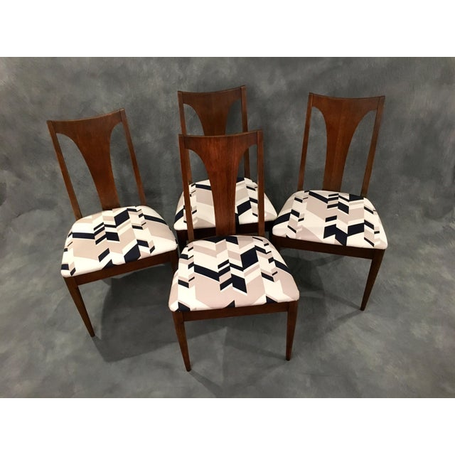 Broyhill Mid-Century Dining Chairs - Set of 4 - Image 2 of 9