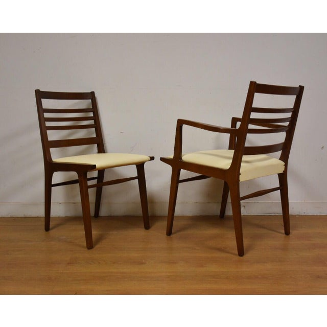 Rway White Dining Chairs - Set of 8 For Sale - Image 9 of 10
