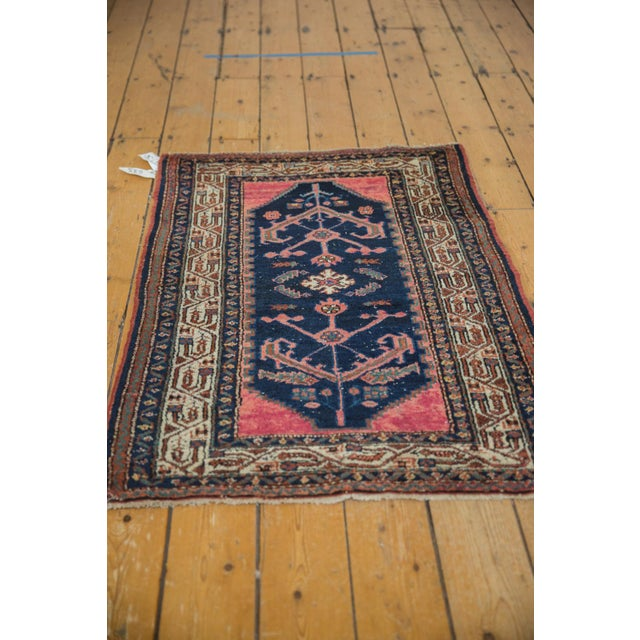"""Old New House Vintage Hamadan Rug - 2'9"""" X 4'2"""" For Sale - Image 4 of 10"""