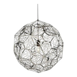 Tom Dixon Etch Web Stainless Steel For Sale