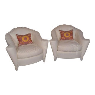 Pair 1940's French Style Bergere For Sale