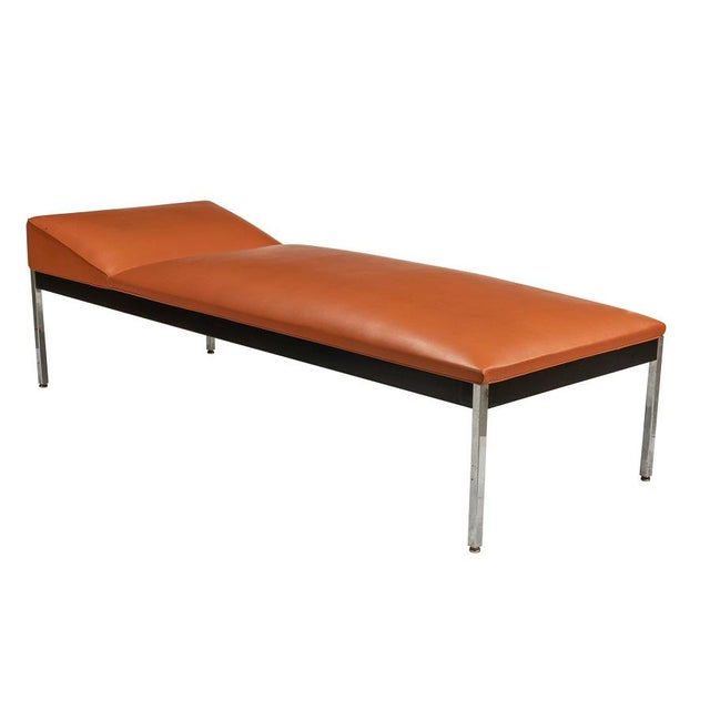 Mid Century Modern Chrome Daybed For Sale - Image 4 of 4