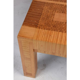 Vintage Modern-Style Geometric Coffee Table Preview