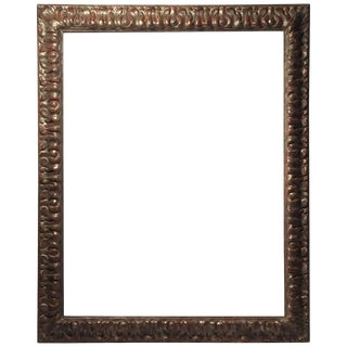 Vintage 20th Century Italian Decorator Frame Mirror Baroque Style For Sale