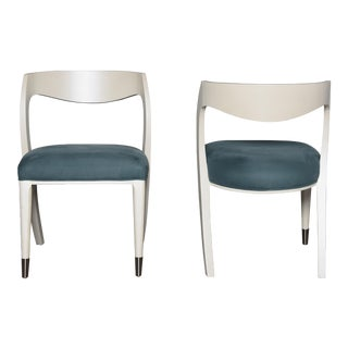 Caracole Modern Grace Side Chairs - a Pair For Sale