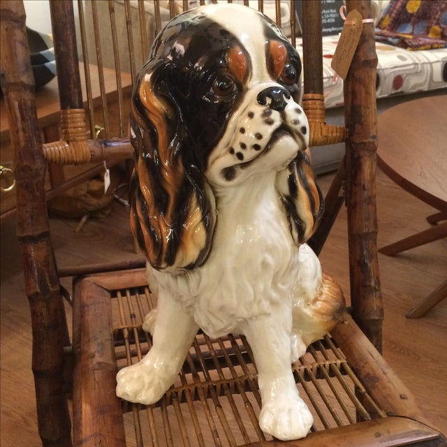 King Cavalier Spaniel Statue For Sale - Image 4 of 7
