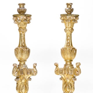 Early 19th Century French Altar Candlesticks - a Pair Preview