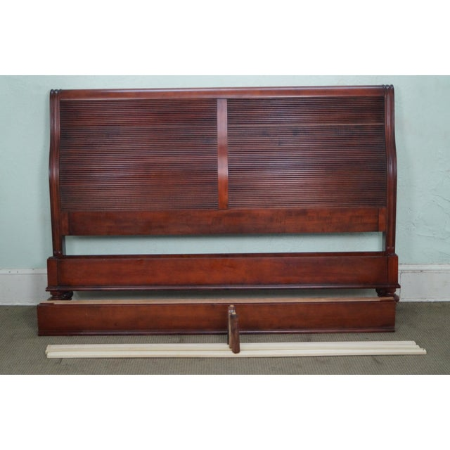 Ethan Allen British Classics King Size Kingston Bed For Sale - Image 10 of 10