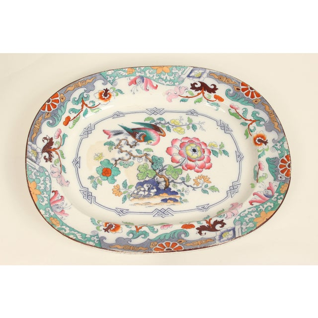 19th Century Ironstone Platter For Sale - Image 12 of 12