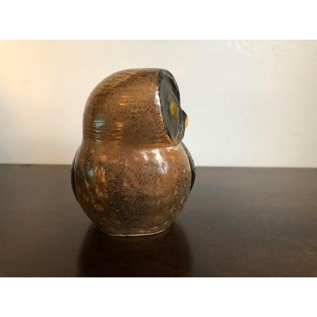 Mid-Century Modern Mid-Century Otagiri Omc Retro Vintage Ceramic Owl For Sale - Image 3 of 8