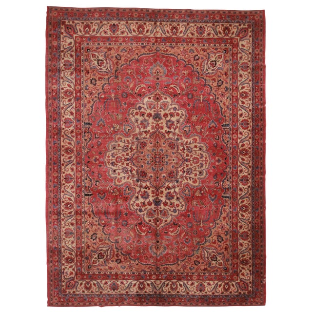 "RugsinDallas Turkish Sparta Wool Rug - 10' X 14'5"" - Image 1 of 2"