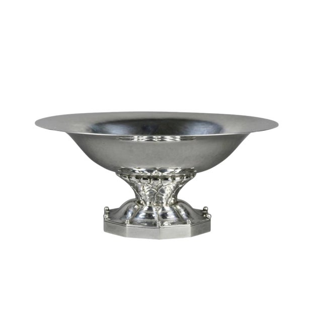 Georg Jensen Sterling Candy Dish For Sale