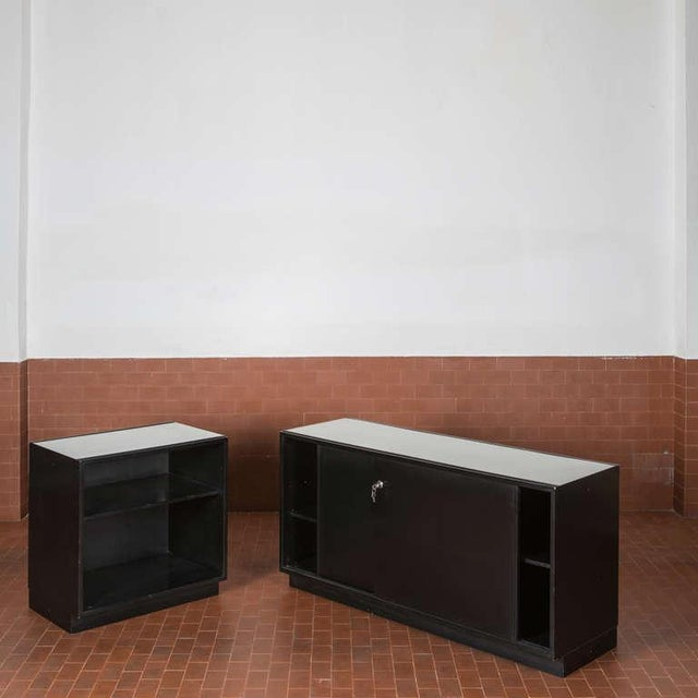 Set of Three Cupboards by Osvaldo Borsani for Tecno For Sale - Image 10 of 10