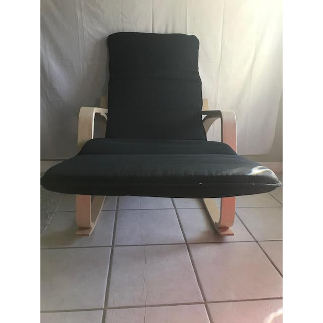 2000s Chaise Lounge- Bentwood, Rocker With Adjustable Footrest For Sale - Image 5 of 7