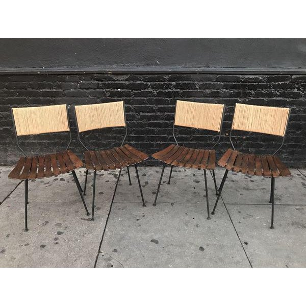 1960s Beautiful Mid Century Modern Dining Set by Arthur Umanoff For Sale - Image 5 of 9