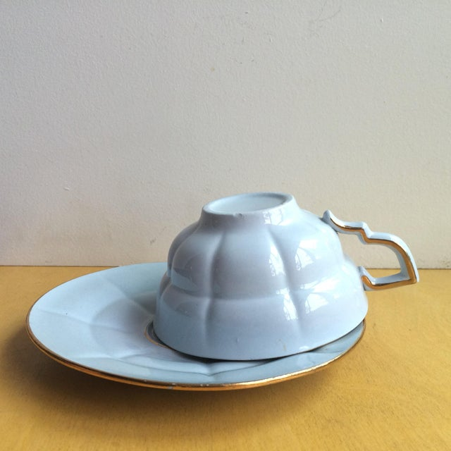 3-Piece Upsala Ekeby Cup & Saucer Set - Image 4 of 8