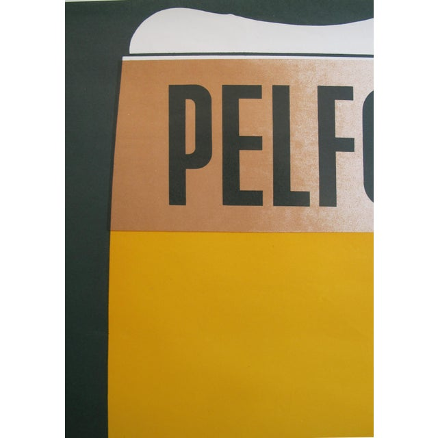 1960s French Vintage Pelforth Beer Poster - Image 3 of 5