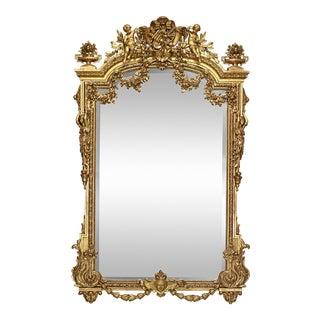 Napoleon III Giltwood Mirror For Sale