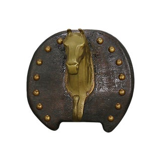 Antique Horse Equestrian Stable Hook