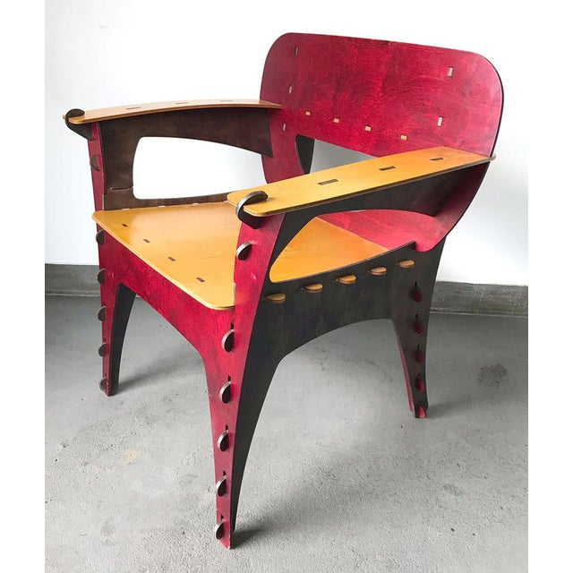 David Kawecki Modern Puzzle Chair by David Kawecki For Sale - Image 4 of 11