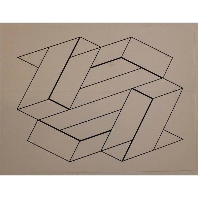"""Silkscreen print from """"Formulation: Articulation,"""" a book of original serigraphs by Josef Albers, printed by Ives-Sillman..."""