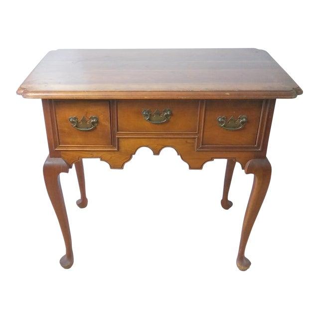 20th Century Queen Anne Style L & Jg Stickley Oak Writing Desk For Sale