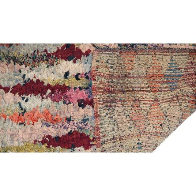 """Vintage Boucherouite Carpet - 5'10"""" X 2'10"""" - Image 3 of 3"""