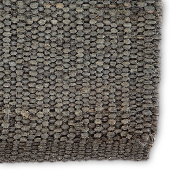 Contemporary Jaipur Living Anthro Natural Dark Gray Area Rug - 8′ × 10′ For Sale - Image 3 of 6