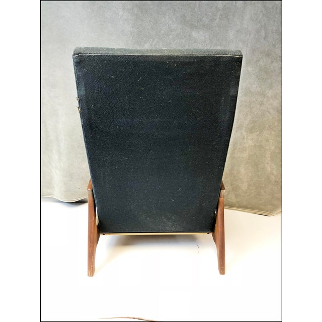 Mid-Century Modern Mid Century Modern Upholstered Recliner - Adrian Pearsall for Craft Associates For Sale - Image 3 of 13