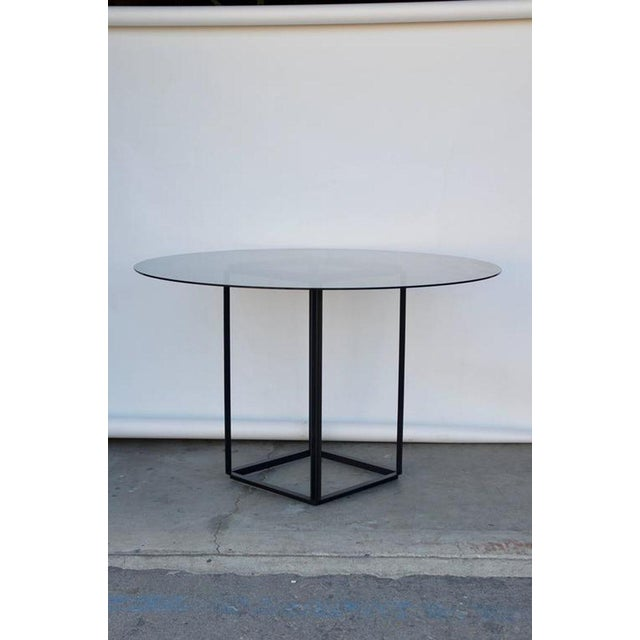 """2010s Contemporary Design Frères The """"Cuboid"""" Minimalist Center or Breakfast Table For Sale - Image 5 of 7"""